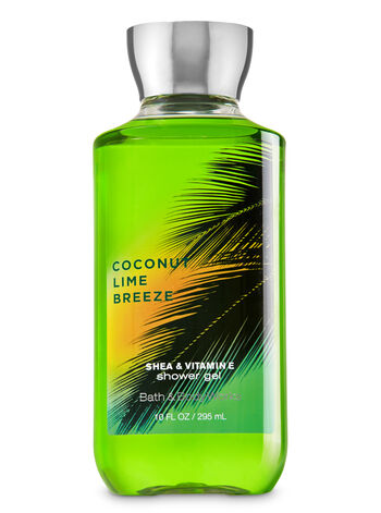 Signature Collection Coconut Lime Breeze Shower Gel - Bath And Body Works