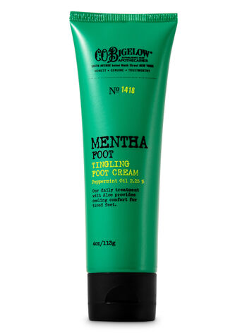 C.O. Bigelow Mentha Tingling Foot Cream - Bath And Body Works