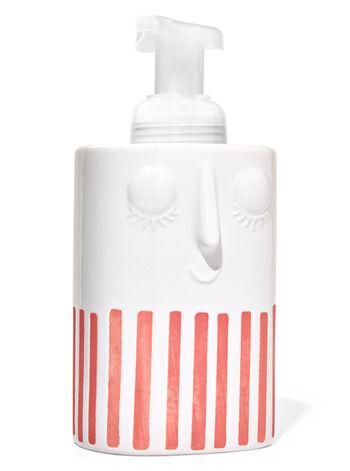 Stoneware Face Gentle Foaming Soap Holder