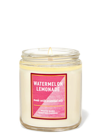 Watermelon Lemonade Single Wick Candle