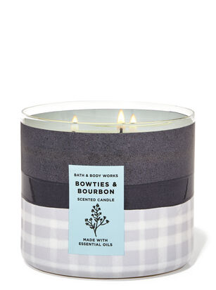Bowties & Bourbon 3-Wick Candle