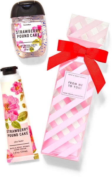 Strawberry Pound Cake Gift Set