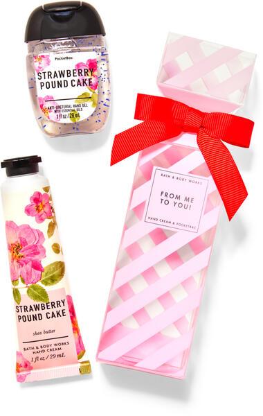 Strawberry Pound Cake Gift Set