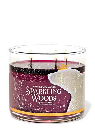 Sparkling Woods 3-Wick Candle