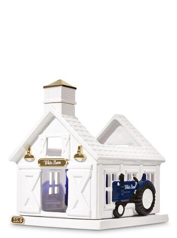 White Barn Luminary 3-Wick Candle Holder