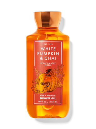 White Pumpkin & Chai Shower Gel