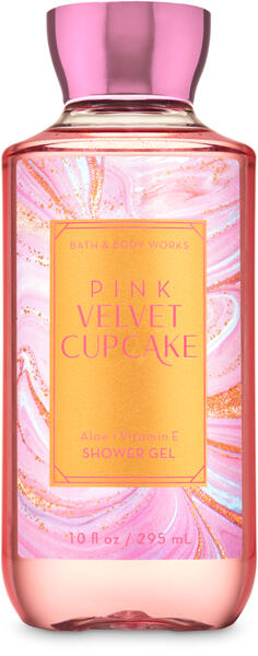 Pink Velvet Cupcake Shower Gel