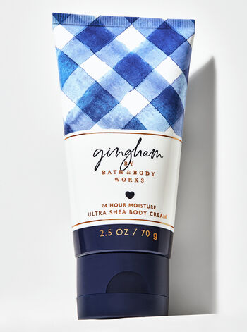 Gingham Travel Size Body Cream - Bath And Body Works