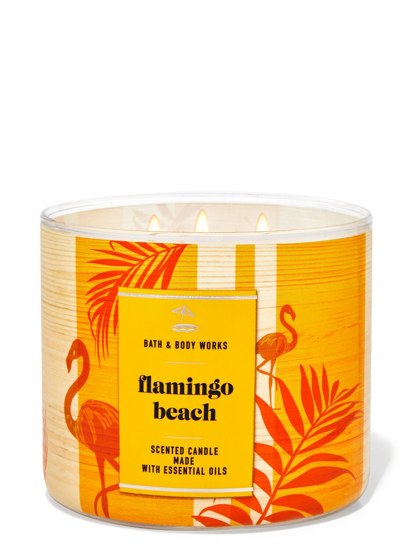 Flamingo Beach 3-Wick Candle