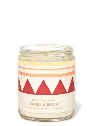 Vanilla Birch Single Wick Candle
