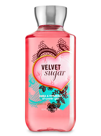 Signature Collection Velvet Sugar Shower Gel - Bath And Body Works