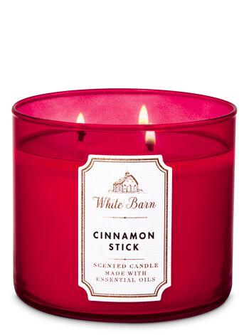White Barn Cinnamon Stick 3-Wick Candle - Bath And Body Works