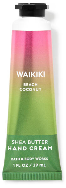 Waikiki Beach Coconut Hand Cream
