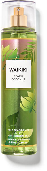 Waikiki Beach Coconut Fine Fragrance Mist