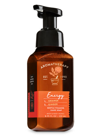 Aromatherapy Energy - Orange & Ginger Gentle Foaming Hand Soap - Bath And Body Works