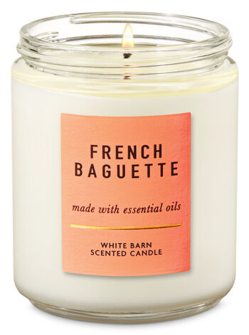 French Baguette Single Wick Candle - Bath And Body Works