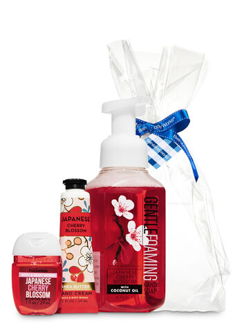 Japanese Cherry Blossom Happy Hands Gift Kit - Bath And Body Works