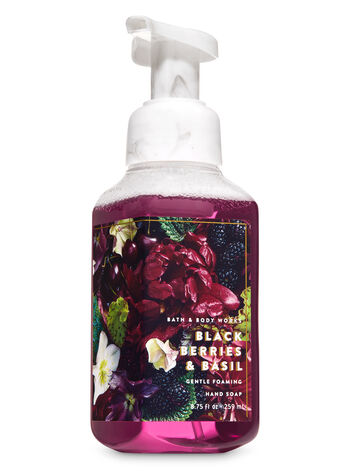 Blackberries & Basil Gentle Foaming Hand Soap - Bath And Body Works