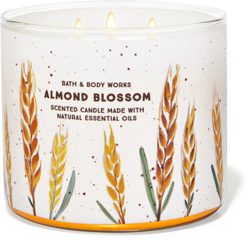 Almond Blossom 3-Wick Candle