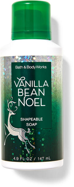 Vanilla Bean Noel Shapeable Soap