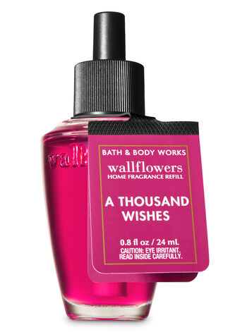 White Barn A Thousand Wishes Wallflowers Fragrance Refill - Bath And Body Works