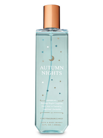 Signature Collection Autumn Nights Fine Fragrance Mist - Bath And Body Works