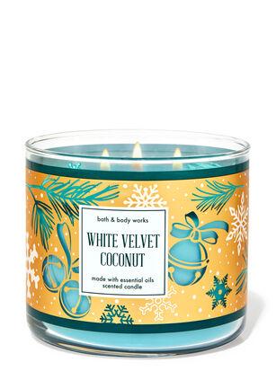 White Velvet Coconut 3-Wick Candle