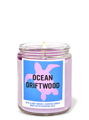 Ocean Driftwood Single Wick Candle