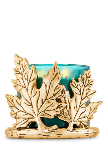 Leaves & Branch 3-Wick Candle Holder - Bath And Body Works
