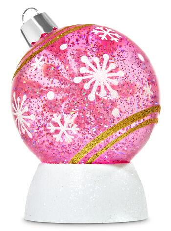 Pink Ornament Water Globe
