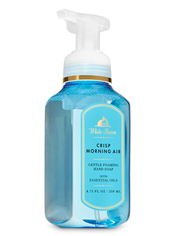 White Barn Crisp Morning Air Gentle Foaming Hand Soap - Bath And Body Works
