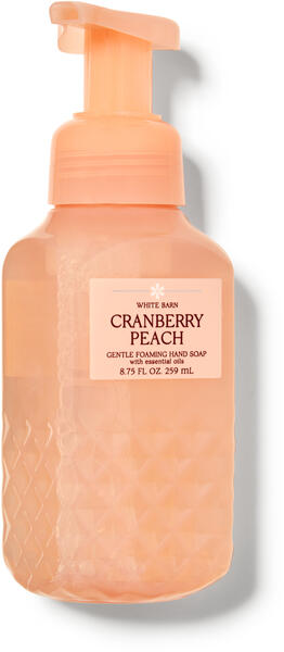 Cranberry Peach Gentle Foaming Hand Soap