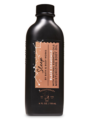 Aromatherapy Black Chamomile Moisturizing Body Oil - Bath And Body Works