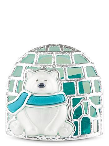 Polar Bear Visor Clip Car Fragrance Holder