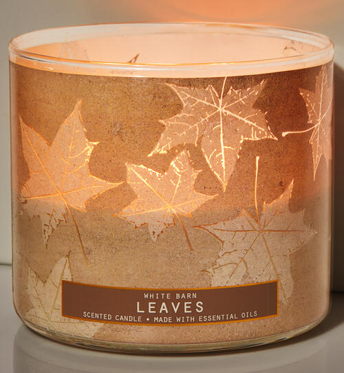 Leaves 3-Wick Candle