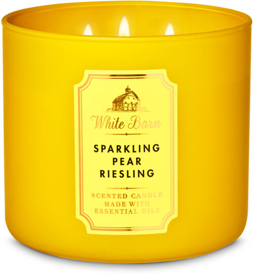 Sparkling Pear Riesling 3-Wick Candle