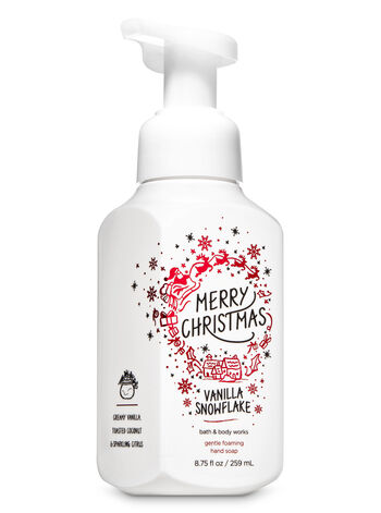 Vanilla Snowflake Gentle Foaming Hand Soap - Bath And Body Works