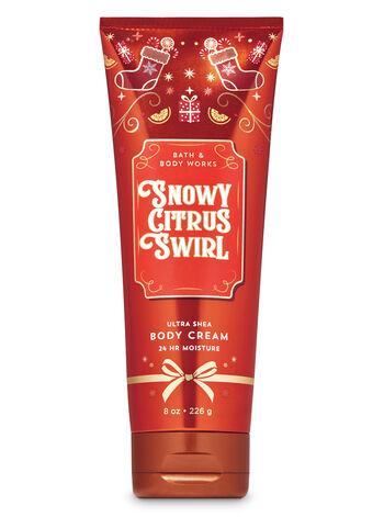 Snowy Citrus Swirl Ultra Shea Body Cream - Bath And Body Works