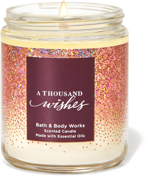 A Thousand Wishes Single Wick Candle
