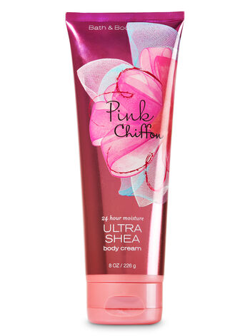 Signature Collection Pink Chiffon Ultra Shea Body Cream - Bath And Body Works