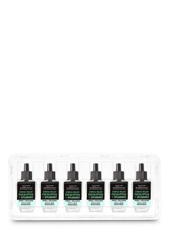 Eucalyptus Spearmint Wallflowers Fragrance Refill, 6-Pack