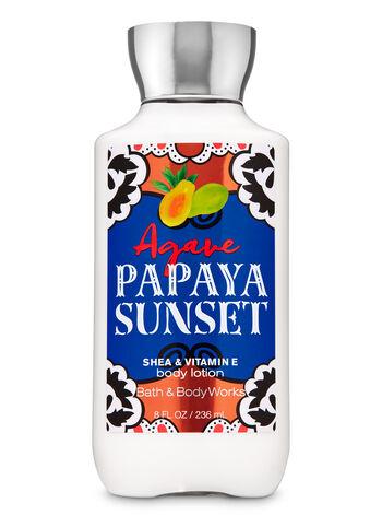 Agave Papaya Sunset Super Smooth Body Lotion