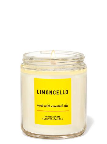 Limoncello Single Wick Candle
