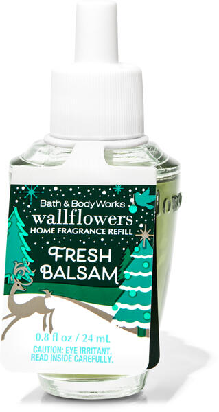 Fresh Balsam Wallflowers Fragrance Refill