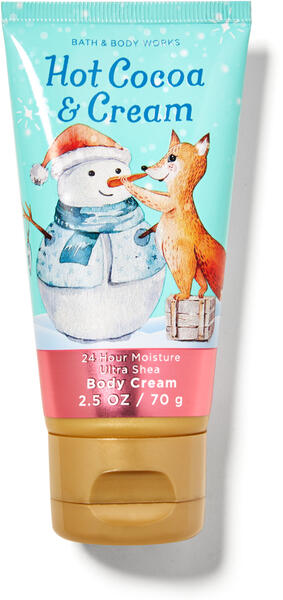 Hot Cocoa & Cream Travel Size Body Cream