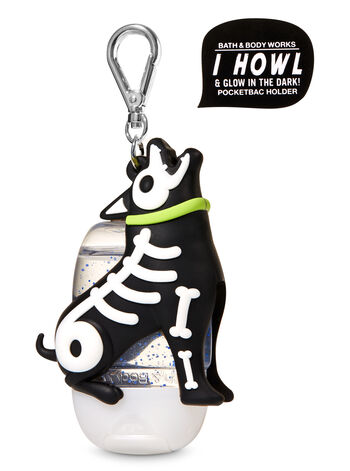 Howling Skeleton Dog PocketBac Holder