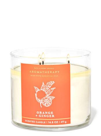 Orange Ginger 3-Wick Candle