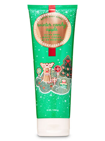 Winter Candy Apple Ultra Shea Body Cream - Bath And Body Works