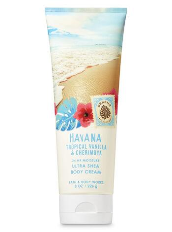 Signature Collection Tropical Vanilla & Cherimoya Ultra Shea Body Cream - Bath And Body Works