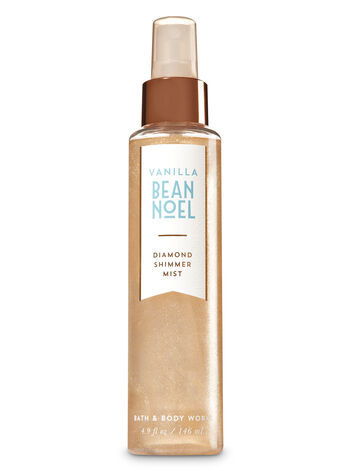 Signature Collection Vanilla Bean Noel Diamond Shimmer Mist - Bath And Body Works